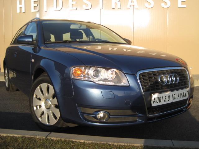 Audi - Audi A4 Avant 2.0 TDI DPF 1.Hand XENON - Fahrzeug Nr.: 1361