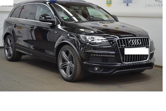 Audi - Q7 3.0 TDI DPF quattro tiptronic | S-LINE | BOSE - Fahrzeug Nr.: 1472